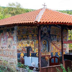 Према легенди овде се причестила Српска војска пре Косовског боја